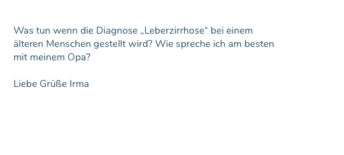 FAQ Leberzirrhose